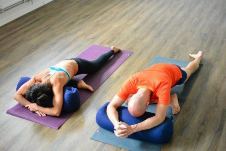 Yin yoga på Hot Yoga Uppsala