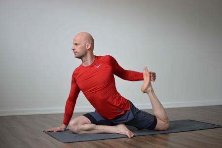 Enbent kungsduva 1 prep yoga