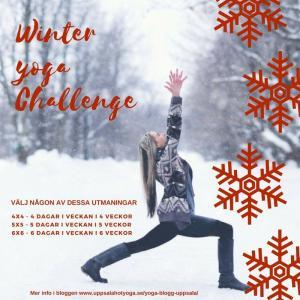 winter yoga challenge