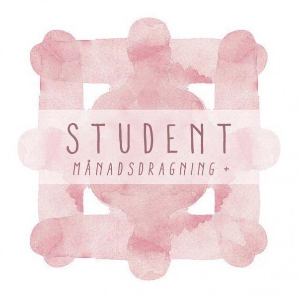 Student månadsdragning Plus