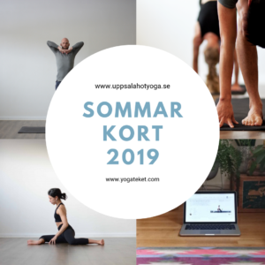 Sommarkort hot yoga
